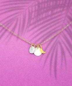 collier fin chaînette sweet design bijoux